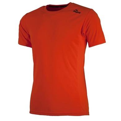 Športové funkčnou triko Rogelli BASIC z hladkého materiálu, oranžové 800.254. XL
