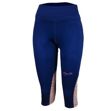 Dámske bežecké 3/4 kraťasy Rogelli DESIRE, modrá-ružový melír 840.764. S