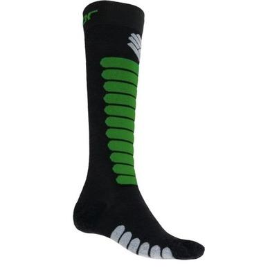 SENSOR ponožky Zero Merino čierna / safari 17200092 3/5 UK