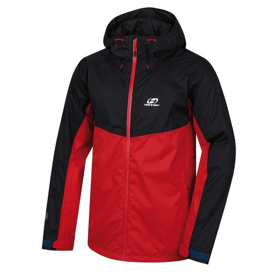 Bunda HANNAH Felder anthracite / racing red M