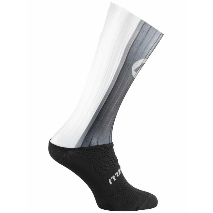 aerodynamické funkčnou ponožky Rogelli AERO, čierno-šedá-biele 007.003 M (36-39)