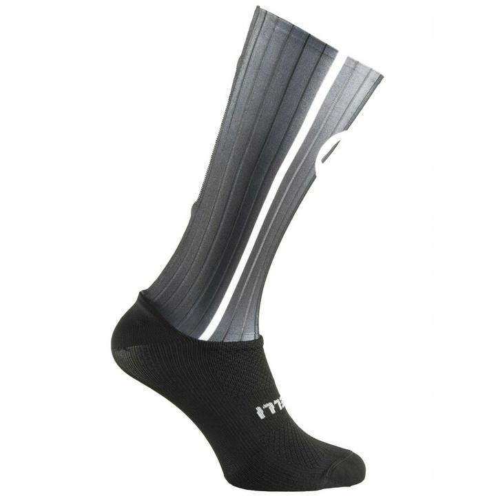 aerodynamické funkčnou ponožky Rogelli AERO, čierno-šedé 007.004 M (36-39)