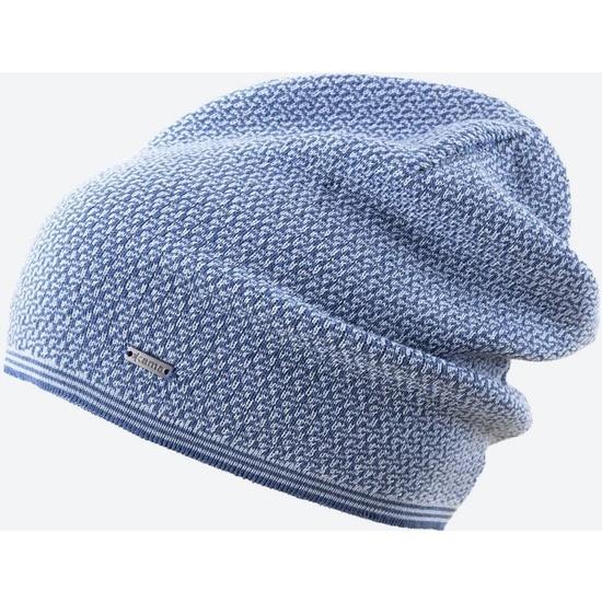 Pletená Merino čiapka Kama A125 107 svetlo modrá