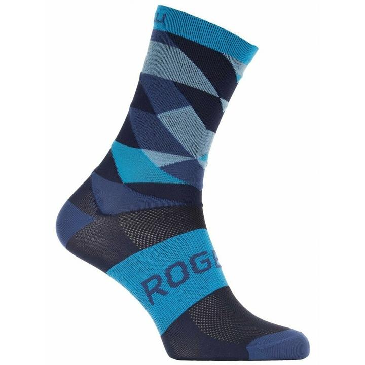 Dizajnové funkčnou ponožky Rogelli SCALE 14, modré 007.154 XL (44-47)