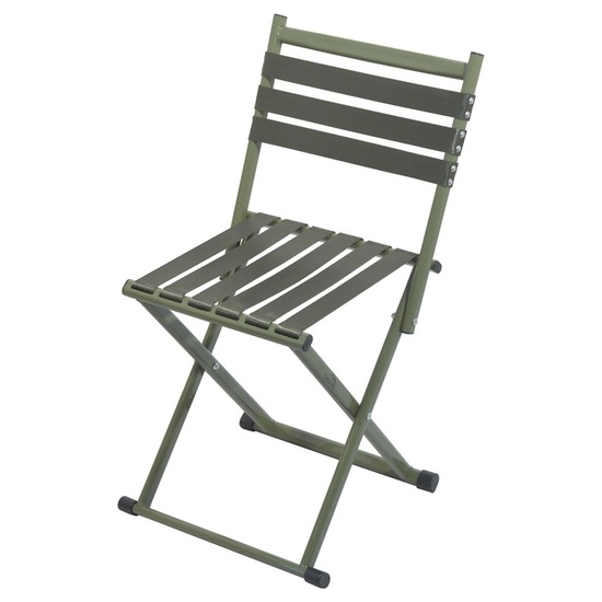 stolička kempingový skladacia s operadlom Cattara NATURE