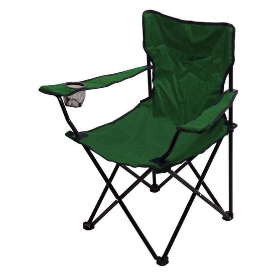 stolička kempingový skladacia Cattara BARI zelená