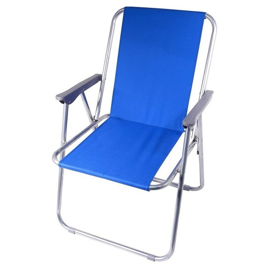 stolička kempingový skladacia Cattara BERN modrá