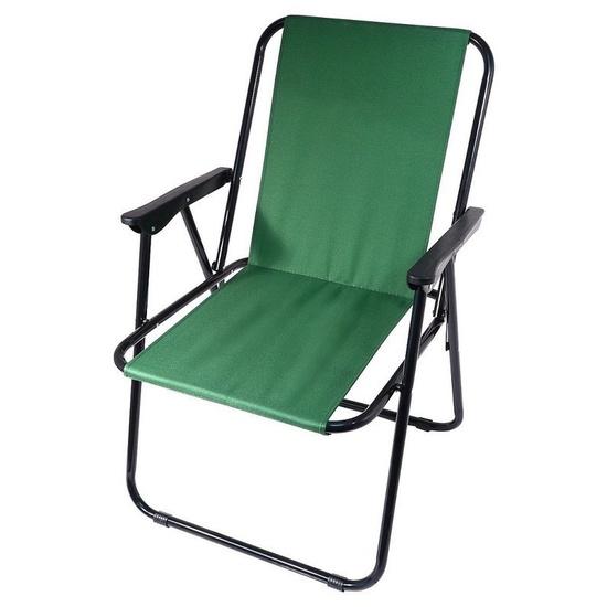 stolička kempingový skladacia Cattara BERN zelená