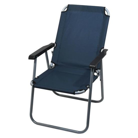 stolička kempingový skladacia Cattara LYON tmavo modrá