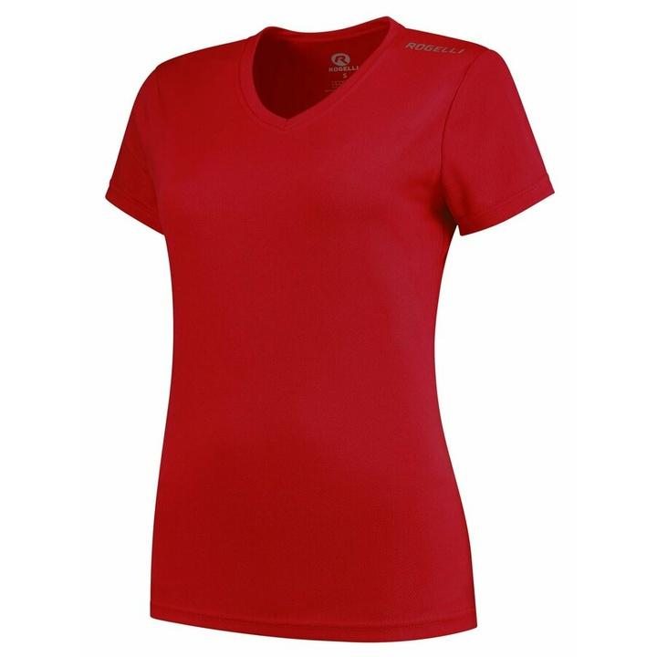 Dámske funkčnou triko Rogelli PROMOTION Lady, červené 801.221 XS