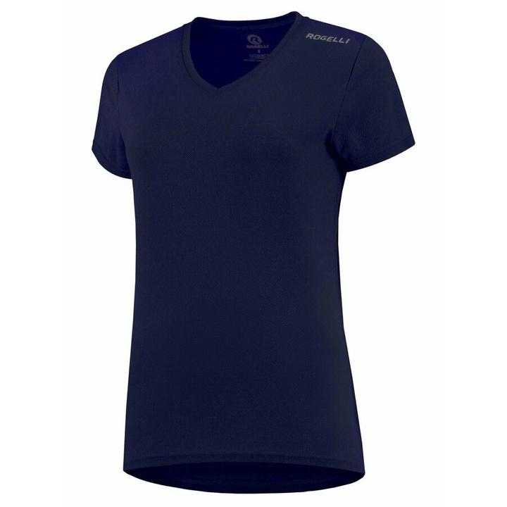 Dámske funkčnou triko Rogelli PROMOTION Lady, tmavo modré 801.229 XL