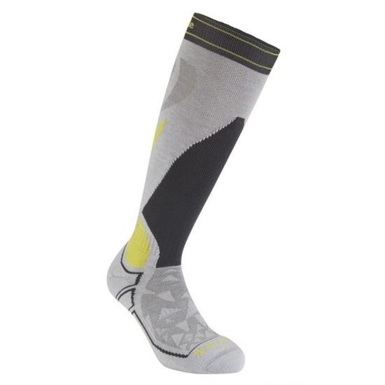Ponožky Bridgedale Ski Midweight light grey/graphite/133 M (6-8,5) UK