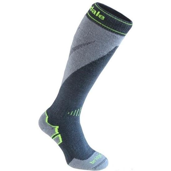 Ponožky Bridgedale Ski Midweight+ gunmetal/stone/038 M (6-8,5) UK