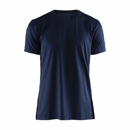 Tričko CRAFT Essential SS 1906052-396000 - tmavo modrá XXL