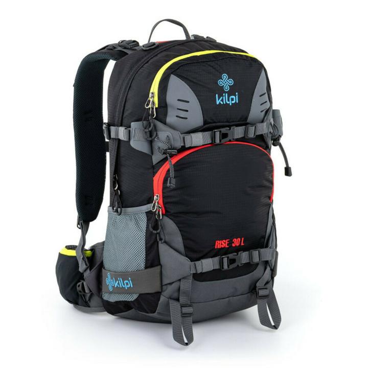 Freeride a skialpový batoh Kilpi RISE-U čierna
