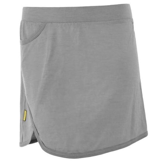 Dámska sukňa Sensor Merino Active sivá 19100001 S