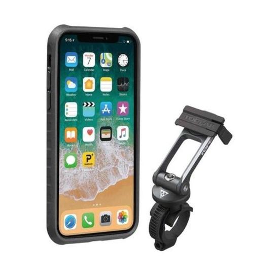 Obal Topeak RideCase pre iPhone X čierna / šedá TT9855BG
