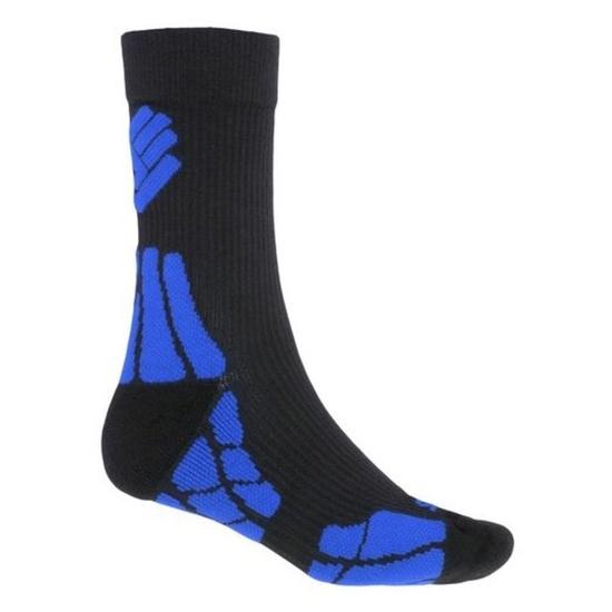 Ponožky Sensor Hiking Merino Wool čierna / modrá 18200062 3/5 UK