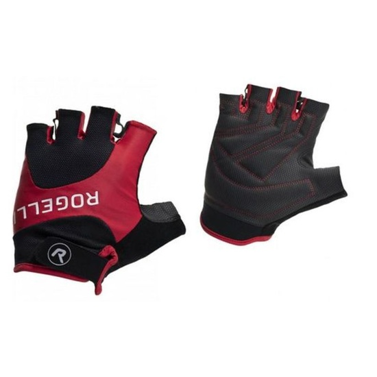Cyklistické rukavice Rogelli ARIOS, červené 006.002. L