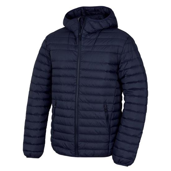 Pánska páperová bunda Husky Dreeser M tm. modrá XL