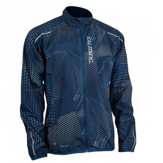 Bunda Salming Ultralite Jacket 3.0 Men Poseidon All Over Print S