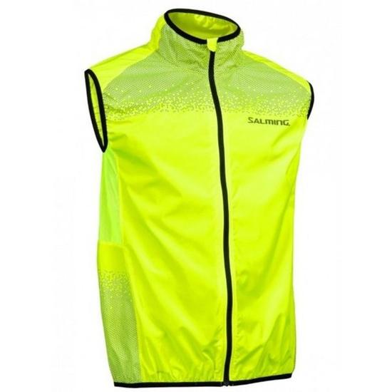 Pánska bežecká vesta Salming Skyline Vest Men Safety Yellow S