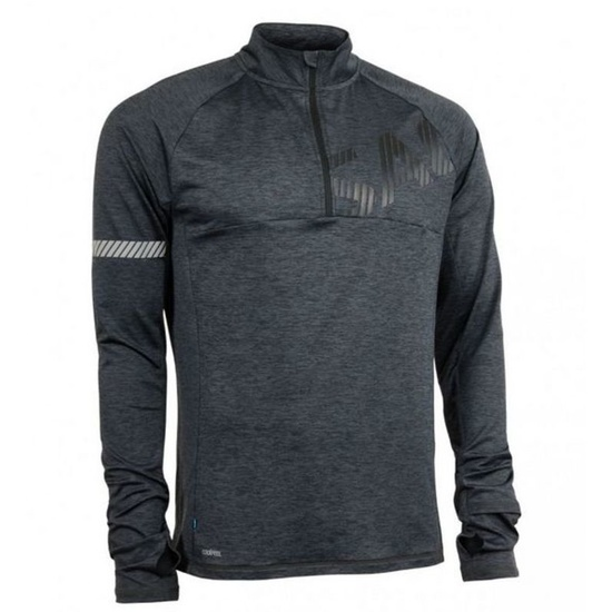 Dámska mikina Salming Phase Halfzip Men Dark Grey Melange XL