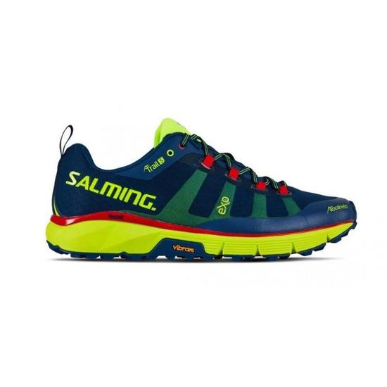 Topánky Salming Salming Trail 5 Men Poseidon Blue / Safety Yellow 8 UK