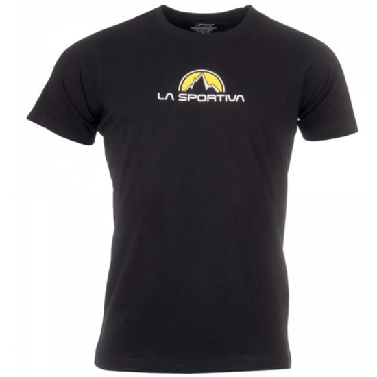 Pánske tričko La Sportiva Footstep Tee Men black S