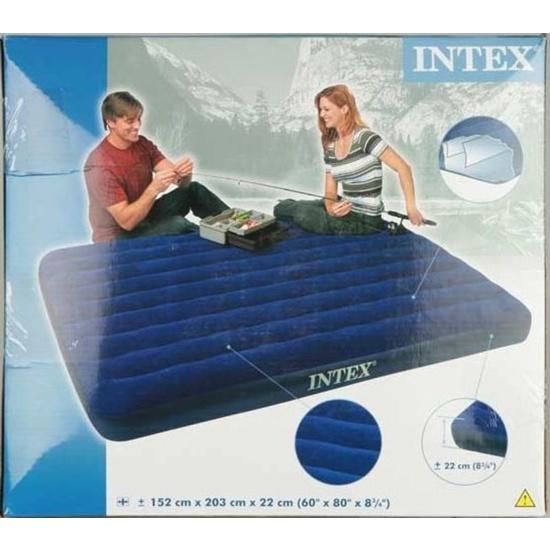 Nafukovací posteľ - matracu Intex Queen 152 x 203 cm