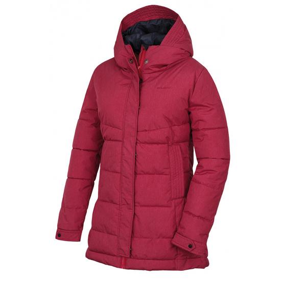 Dámsky hardshell plnený kabátik Husky Nilit L purpurová L