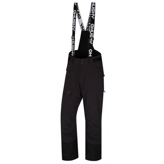 Pánske lyžiarske nohavice Husky Gilep M čierna XL