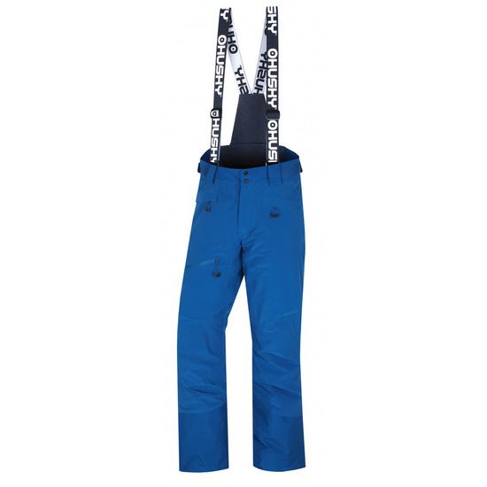 Pánske lyžiarske nohavice Husky Gilep M tm. modrá XL