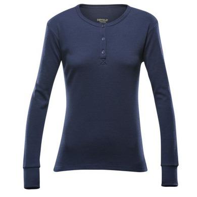 Dámske triko Devold Nature Woman Button Shirt 148-248 284 L
