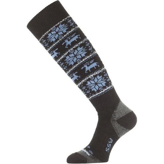 Ponožky Lasting SSW 905 čierne L (42-45)