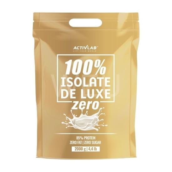 Activlab 100% ISOLATE DE LUXE 700g - ZERO - Jahoda