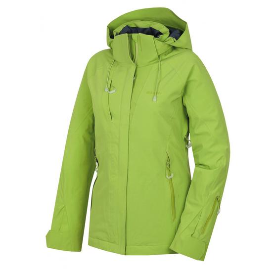 Dámska lyžiarska bunda Husky Nopi L zelená L