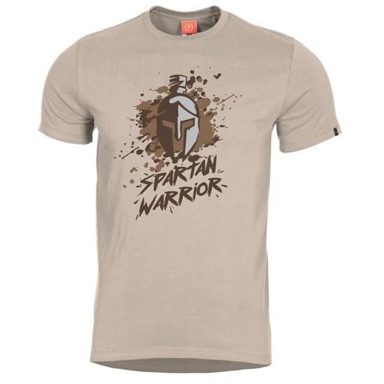 Pánske tričko PENTAGON® Spartan Warrior khaki XXL