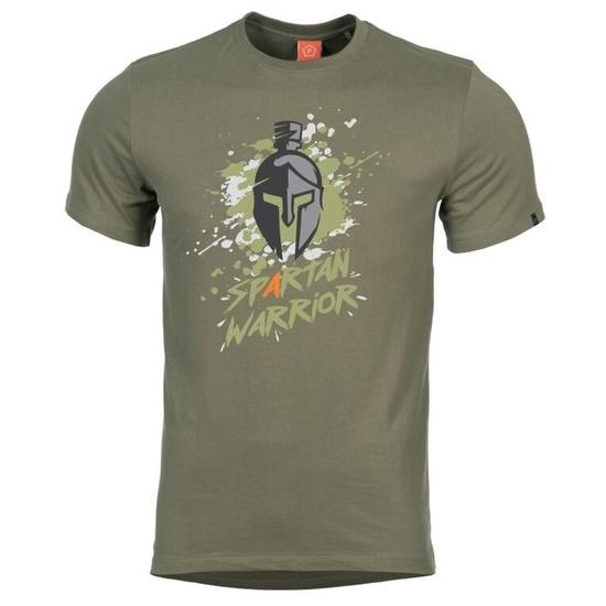 Pánske tričko PENTAGON® Spartan Warrior zelená L