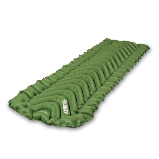Nafukovací karimatka Klymit Static V Long Green
