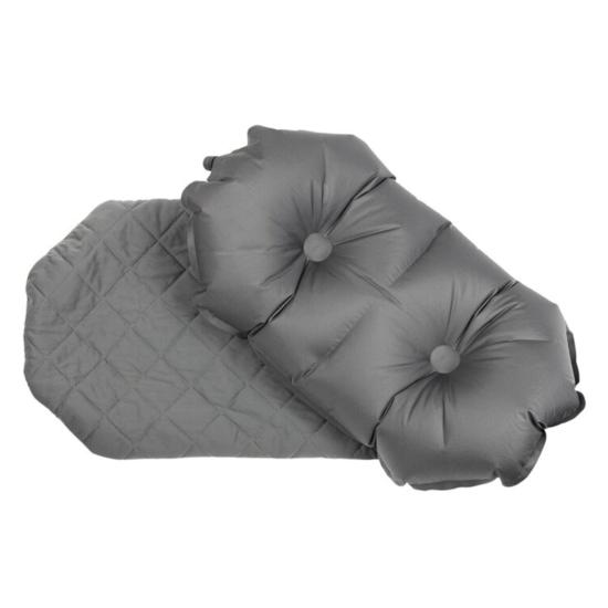 Nafukovací vankúš Klymit Luxe Pillow šedý