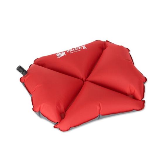 Nafukovací vankúš Klymit Pillow X červený