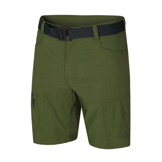 Pánske kraťasy Husky Kimbo M tm.zelená M
