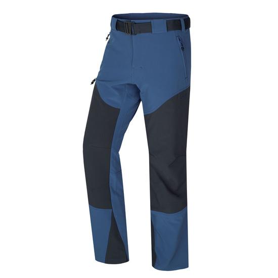 Pánske softshellové nohavice Husky Keiry M tm. modrá L