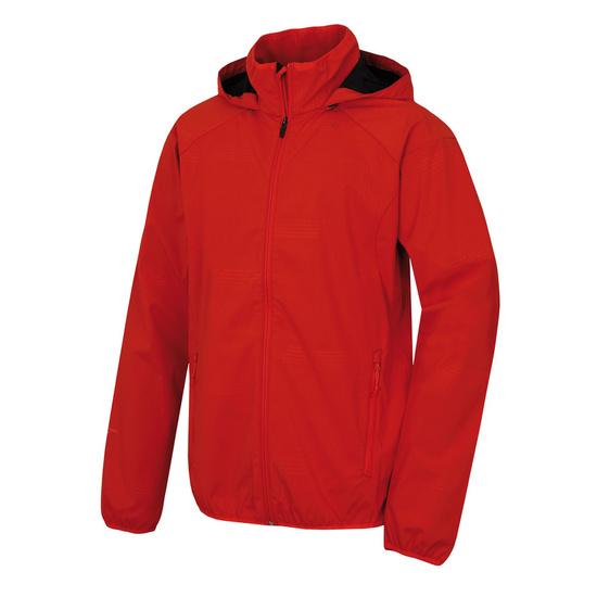 Pánska softshellová bunda Husky Sally M červená XXL