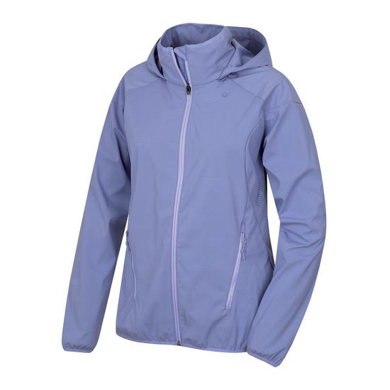 Dámska softshellová bunda Husky Sally L sv. modrofialová L
