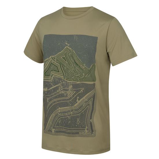 Pánske triko Husky Tash M sv. olivová XXL