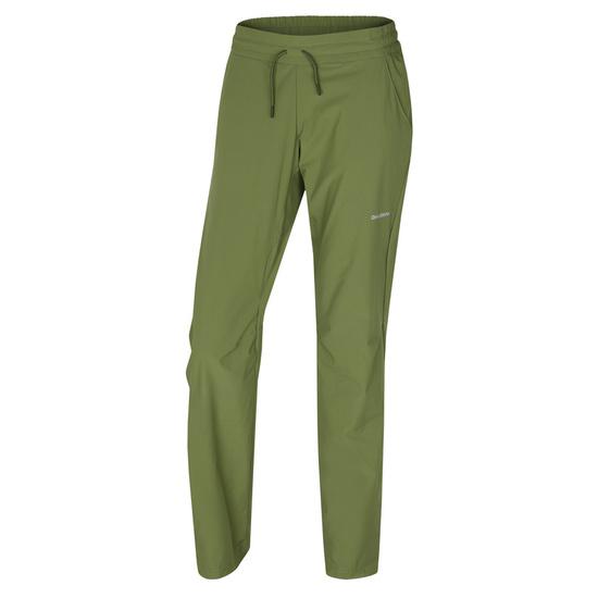Dámske softshellové nohavice Husky Speedy Long L tm.zelená L