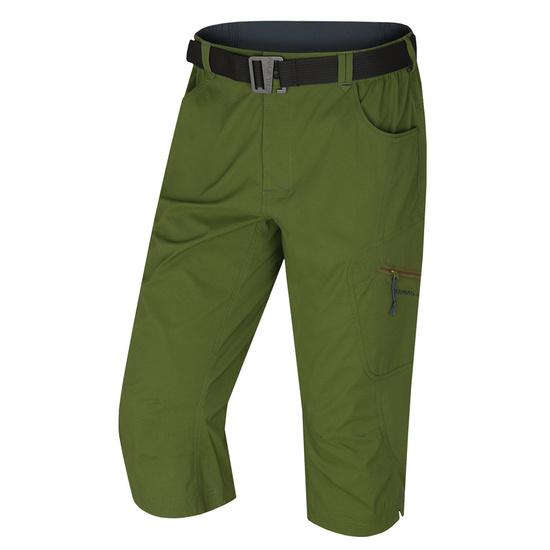 Pánske 3/4 nohavice kléru M tm. zelená M