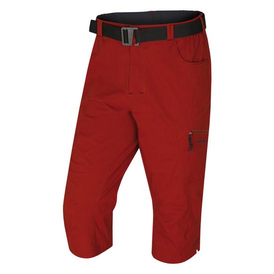 Pánske 3/4 nohavice kléru M tm. tehlová M
